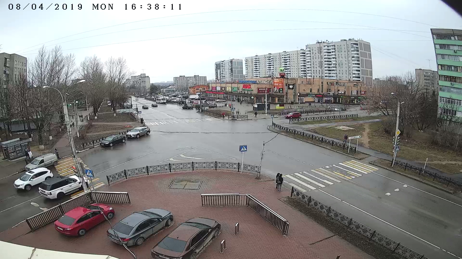 Перекрёсток пр. Туполева